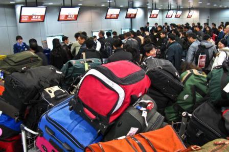 China erlebt zurzeit die dritte Auswanderungswelle seit Beginn der Öffnungspolitik. Foto: AFP/Getty Images