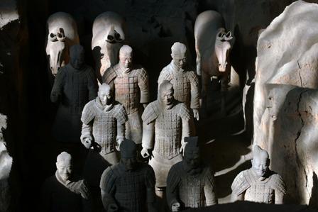 Die Terrakotta-Armee wird von vielen als Achtes Weltwunder bezeichnet. Foto: Getty Images AsiaPac