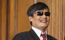 Chen Guangcheng, ein bekannter chinesischer Bürgerrechtler   Foto: Pete Marovich/Getty Images