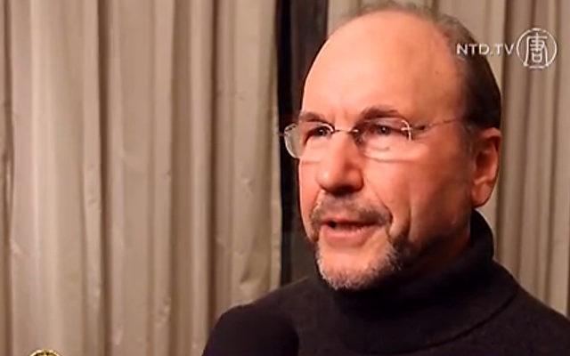 Arne Schwarz, Ermittler in Sachen Organraub.   Foto: NTD Television
