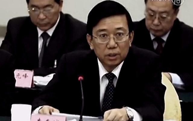 Li Chungcheng, zweithöchster KP-Beamter der Provinz Sichuan.   Foto: NTD Television