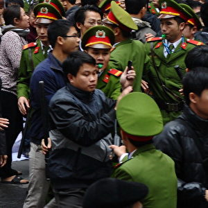 Anti-China-Proteste in Vietnam. Foto: AFP/Getty Images