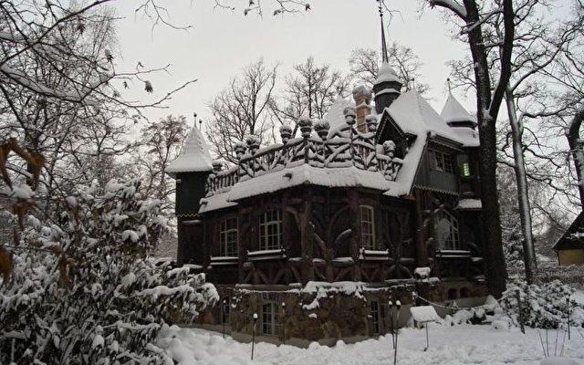 Hexenhaus in Falkensee bei Berlin  Foto: Mit freundlicher Genehmigung von Edmund Becker
