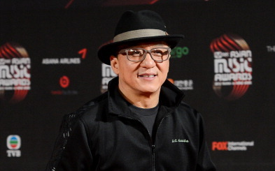 Jackie Chan, Schauspieler aus Hongkong.   Foto: PHILIPPE LOPEZ/AFP/Getty Images