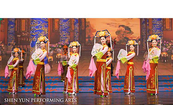 Die Manch-Tänzerinnen von Shen Yun    Foto: Shen Yun Performing Arts