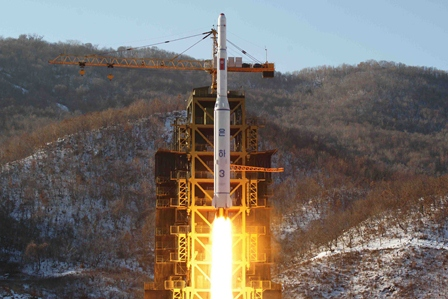 China will den Atomwaffentest von Nordkorea verhindern. Foto: KNS/AFP/Getty Images