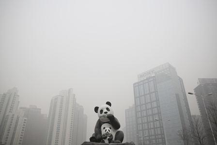 China: Zum vierten Mal Smog-Alarm in Peking
