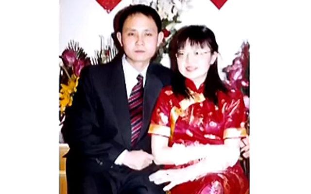Cao Dong und seine verstorbene Frau Yang Xiaojing.   Foto: NTD Television