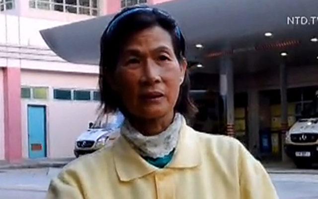 Zeng Jiaochan, eine Falun Gong-Praktizierende aus Hongkong.   Foto: NTD Television