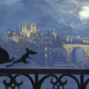 Robert Kondo, Emile and Remy, Ratatouille, 2007, Digital painting. Foto: 2012 Disney Enterprises, Inc./Pixar.