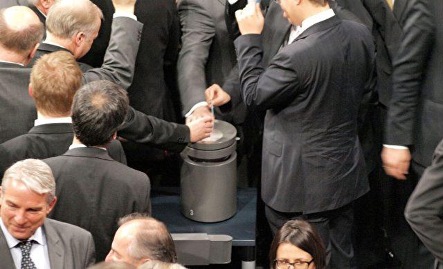 Abstimmung im Bundestag Foto: über dts Nachrichtenagentur