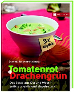 Coverbild Tomatenrot + Drachengrün.