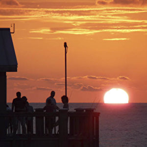 Sunset Point am Clearwater Beach.  Foto: Bernd Kregel