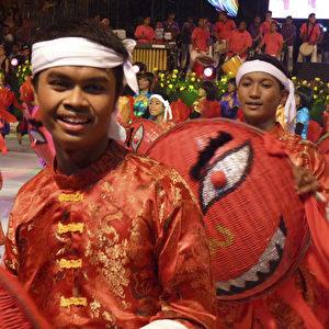 Darstellung des chinesischen Neujahrsfestes.  Foto: Bernd Kregel