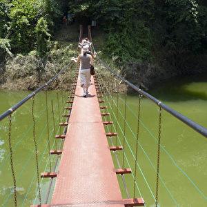 """Malaysia: Eingangstor zur """"Grünen Hölle"""".  Foto: Bernd Kregel"""
