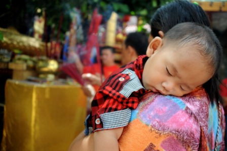 Die Ein-Kind-Politik in China verursacht viele Zwangsmaßnahmen. Foto: SONNY TUMBELAKA/AFP/Getty Images