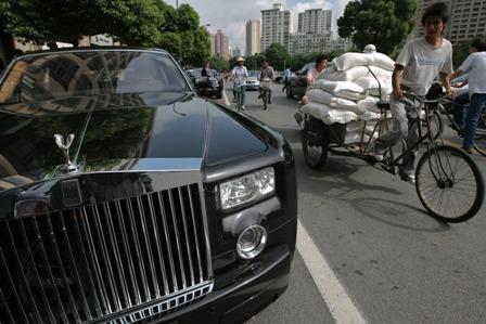 Die Oberschicht besteht aus ungebildeten Neureichen und korrupten Beamten. Foto: China Photos/Getty Images