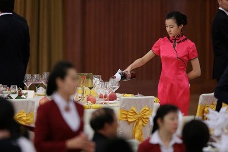 In China sind die Einnahmen von Luxusrestaurants stark gesunken. Foto: Feng Li/Getty Images