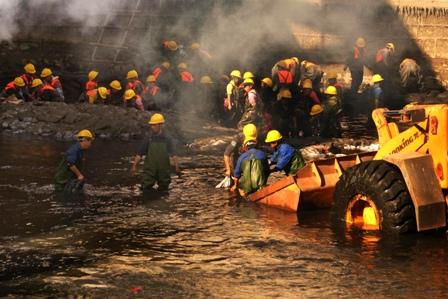 Grundwasser in China ist schwer verschmutzt. Foto: AFP/Freier Fotograf/AFP/Getty Images