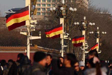"""Der """"politische Sauberkeitswahn"""" nach deutschem Vorbild erntet Respekt in China. Foto: ChinaFotoPress/Getty Images"""