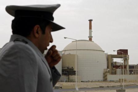 Der Iran steht im Verdacht, eine Atombombe zu bauen. Foto: SAMUEL KUBANI/AFP/Getty Images