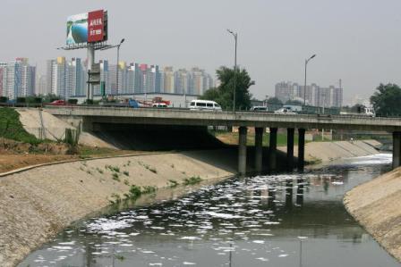 Die Umweltverschmutzung ist ein großes Problem in China. Foto: Guang Niu/Getty Images