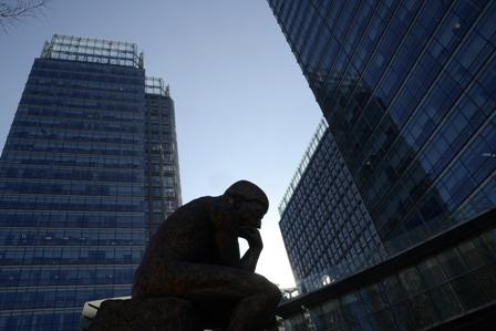 Wirtschaftswachstum in China gefälscht?   Foto: AFP/AFP/Getty Images