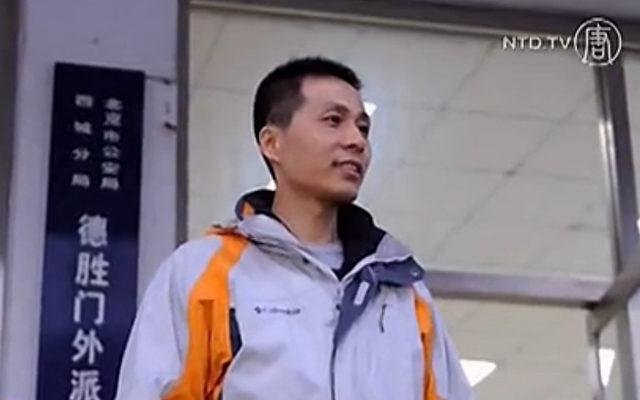 Zhu Ruifeng, Journalist aus Peking.   Foto: NTD Television