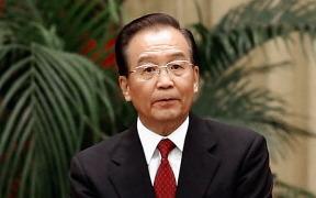Wen Jiabao, ehemaliger Premierminister der KPCh.   Foto: Lintao Zhang/Getty Images