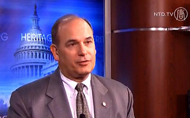 Steven Bucci, Cyber-Sicherheitsexperte aus der USA.   Foto: NTD Television
