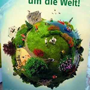 In 80 Gärten um die Welt auf der Gartenschau in Hamburg-Wilhelmsburg. Foto: Elke Backert