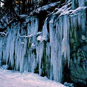Eiszeit in Kärnten. Foto: Elke Backert