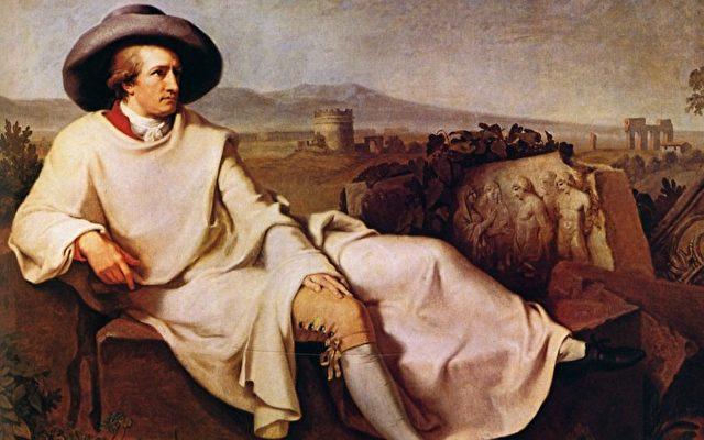 Johann Wolfgang von Goethe, geboren im Jahr der Schlange 1749. Gemalt von Tischbein    Foto: visipix.com