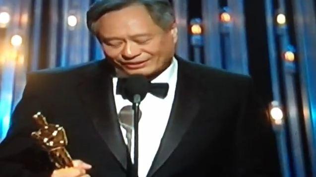 Oscar-Gewinner 2013: Der taiwanesische Regisseur Ang Lee. Foto: screenshot video