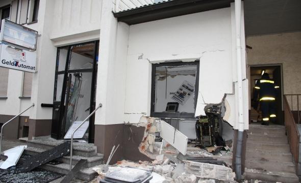 Hessen: Geldautomat bei Explosion zerstört – Haus einsturzgefährdet