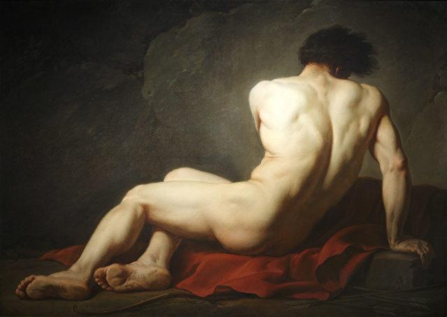 Jacques-Louis David (1748–1825), Patroklus, 1780.