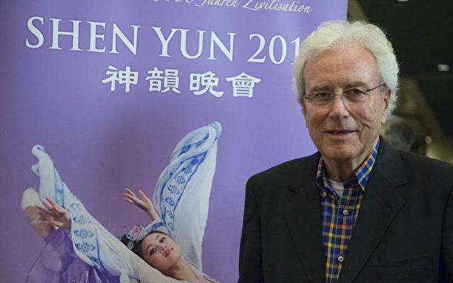 Wilfried Schweiger-Lemgo im ICC Berlin bei Shen Yun   Ffoto: Matthias Kehrein / The Epoch Times
