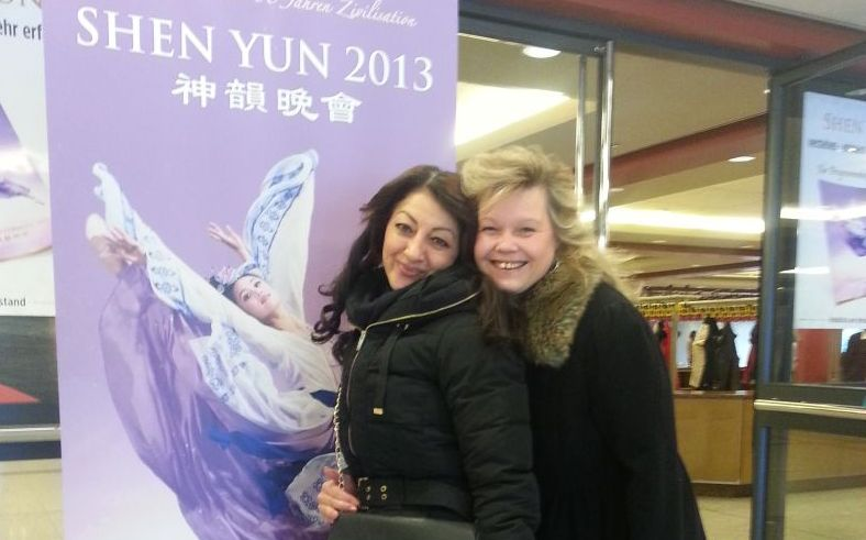 In dem Raum war nur positive Energie von Shen Yun