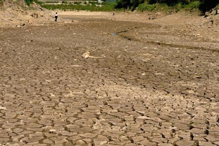 In einige Provinzen im Süden und Nordwesten von China hat es seit November 2012 nicht mehr geregnet. Foto: ChinaFotoPress/Getty Images
