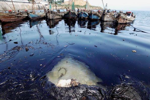 China: Starke Verschmutzung von Meerwasser und Küsten
