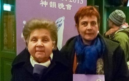 Schwedische Parlamentarierin bei Shen Yun