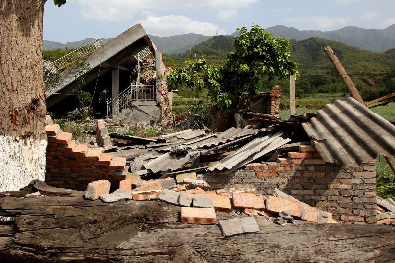 China: Große Erdrutschgefahr im Erdbebengebiet