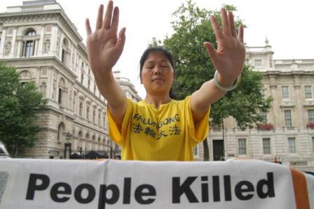 Bei der Verfolgung von Falun Gong wurde auch Organraub verübt. Foto: AFP/AFP/Getty Images