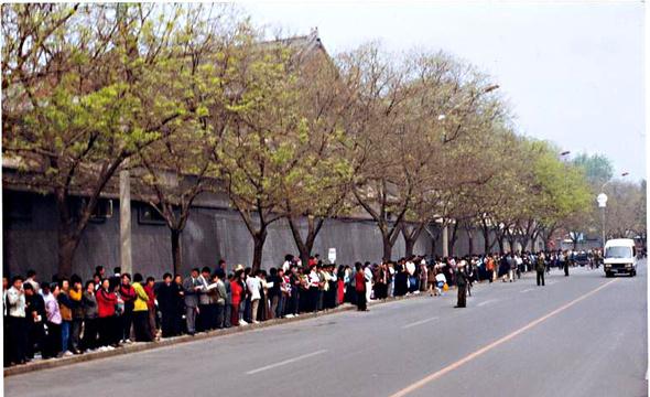 China vor 14 Jahren: Die große friedliche Demonstration geriet in eine Falle