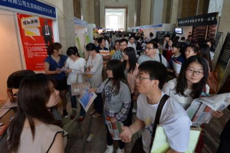 China: Mit Uni-Abschluss zum Burgerbraten oder auf den Bau?