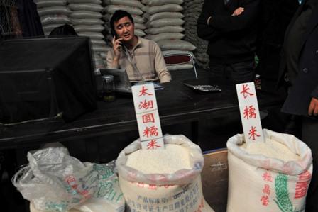 China: Sorge um Schwermetallbelastung bei Reis wächst