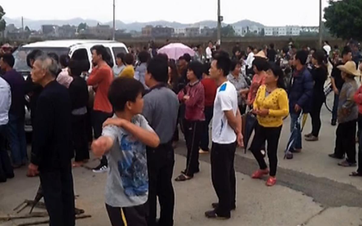 China: Erneut protestieren Hunderte in der Stadt Wukan
