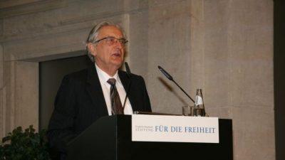Ex-Innenminister Gerhart Baum: Allmächtige Politiker lassen Bürger im Stich