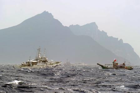 Japan erhält Unterstützung von Obama bei Senkaku-Inseln