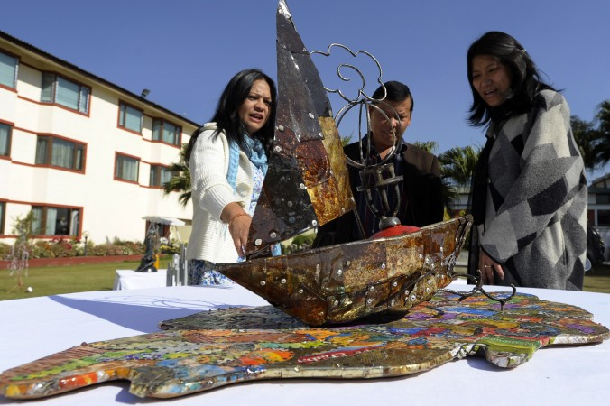 Müll vom Mount Everest zu Kunstobjekten verwertet